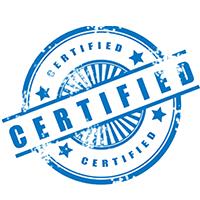 Осталась сертификация